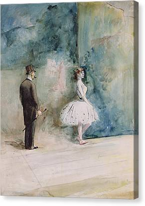 The Dancer Canvas Print by Jean Louis Forain