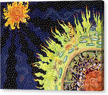 The Deep Canvas Print by Shoshanah Dubiner