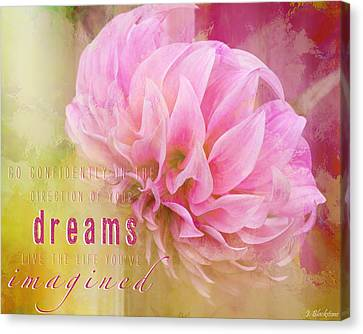 The Direction Of Your Dreams - Image Art Canvas Print by Jordan Blackstone