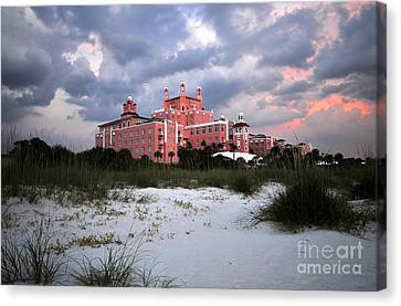 The Don Cesar Canvas Print by David Lee Thompson