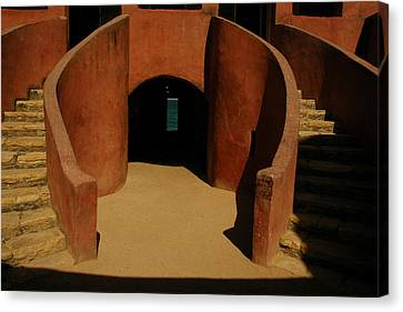 The Door Of No Return On Goree Island Canvas Print by Bobby Model