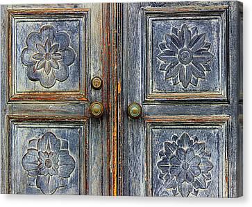 The Door Canvas Print by Ranjini Kandasamy