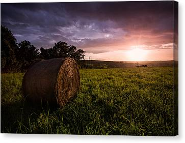 The Downs Canvas Print by Ian Hufton