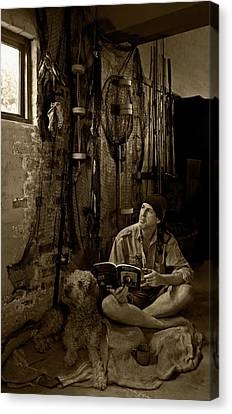 The Dreaming Fisherman Canvas Print by Basie Van Zyl