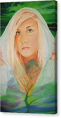 The Dreaming Tree Canvas Print by Joshua Morton