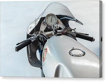 The Ducati Canvas Print by Martin Bergsma