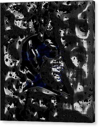The Duke Blue Devils 1a Canvas Print by Brian Reaves