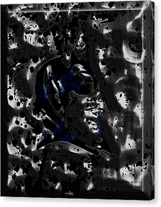 The Duke Blue Devils 1d Canvas Print by Brian Reaves