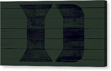 The Duke Blue Devils 4w Canvas Print by Brian Reaves