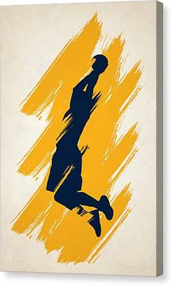 The Dunk Canvas Print by Joe Hamilton