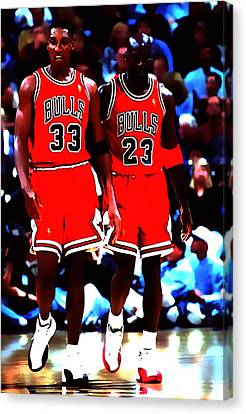 The Dynamic Duo Canvas Print by Brian Reaves