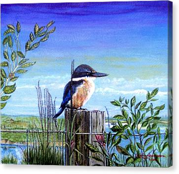 The Early Bird Canvas Print by James Richardson