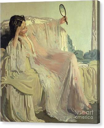 The Eastern Gown Canvas Print by Sir William Orpen
