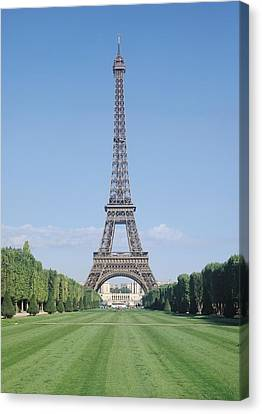 The Eiffel Tower Canvas Print by French School