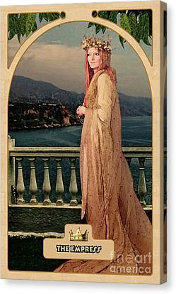 The Empress Canvas Print by John Edwards