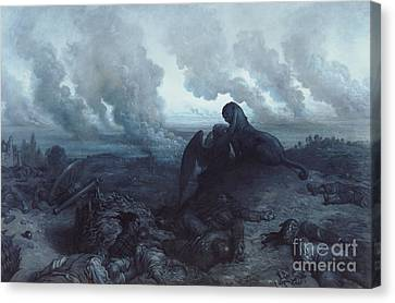 The Enigma Canvas Print by Gustave Dore