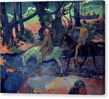The Escape Canvas Print by Paul Gauguin