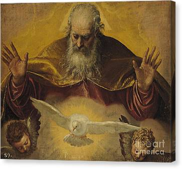 The Eternal Father Canvas Print by Paolo Caliari Veronese