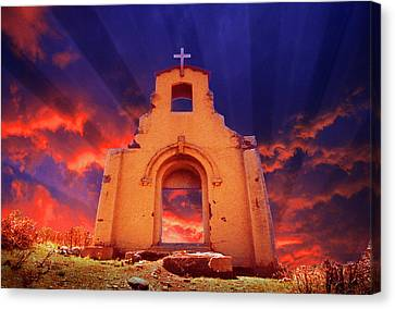 The Event Canvas Print by Jerry McElroy