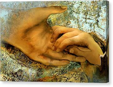 The Everlasting Creation Canvas Print by Anne Weirich