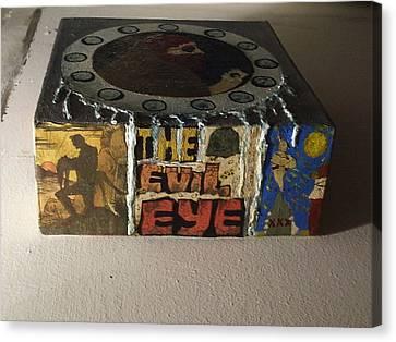 The Evil Eye Canvas Print by William Douglas