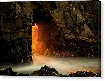 The Exit Canvas Print by Edgars Erglis