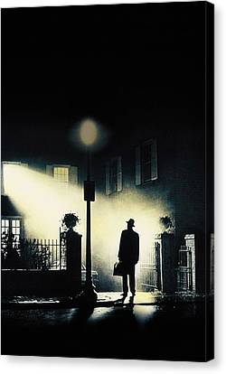 The Exorcist, Poster Art, 1973 Canvas Print by Everett