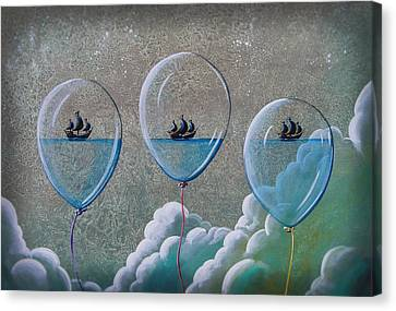 The Explorers Canvas Print by Cindy Thornton