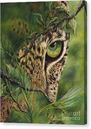 The Eye Canvas Print by Myra Goldick