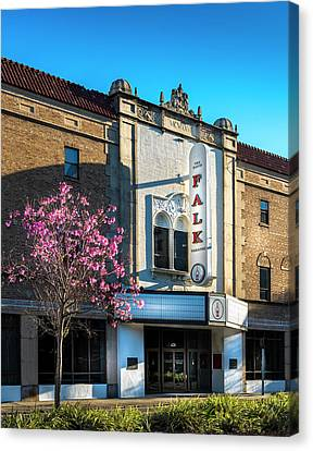 The Falk Theater Canvas Print by Marvin Spates