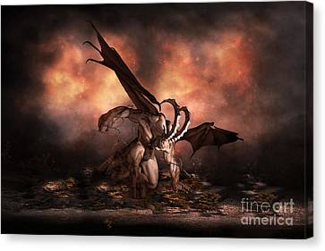 The Fallen Canvas Print by Shanina Conway