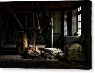 The Feed Mill Canvas Print by Mountain Dreams