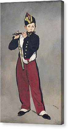 The Fifer Canvas Print by Edouard Manet