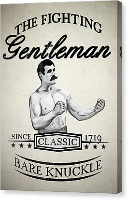 The Fighting Gentlemen Canvas Print by Nicklas Gustafsson