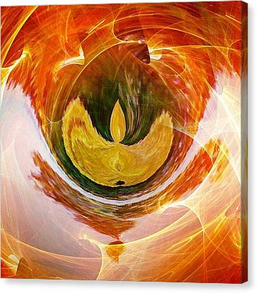 The Firebird Canvas Print by Contemporary Art