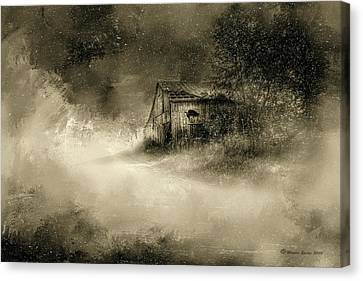 The First Snow Canvas Print by Marvin Spates