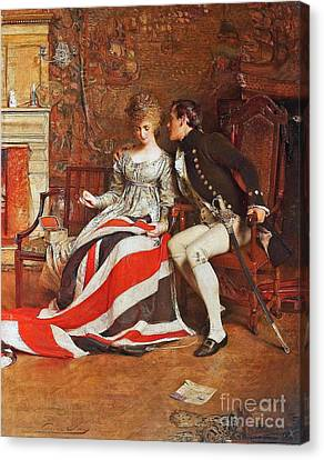 The First Union Jack  Canvas Print by MotionAge Designs