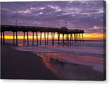 The Fisherman Canvas Print by Dan Myers