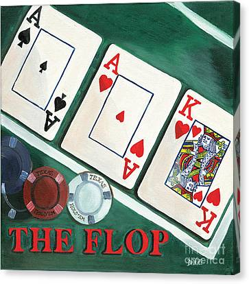 The Flop Canvas Print by Debbie DeWitt