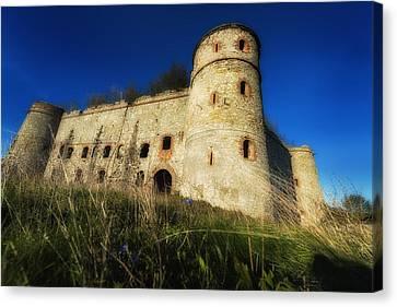 The Fortress - La Fortezza Canvas Print by Enrico Pelos