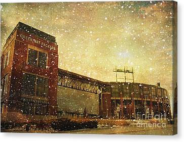 The Frozen Tundra Canvas Print by Joel Witmeyer
