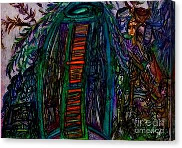 The Garden Canvas Print by Stephanie Zelaya