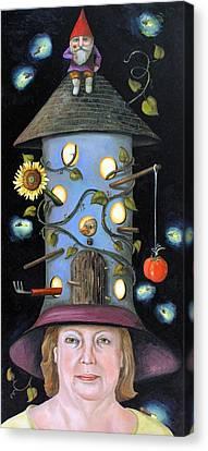 The Gardener Canvas Print by Leah Saulnier The Painting Maniac