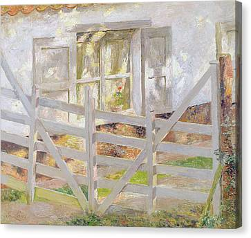 The Gate Canvas Print by Emile Claus