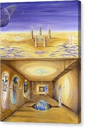 The Gate Keeper Canvas Print by Teresa Gostanza