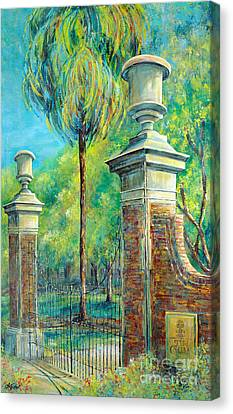 The Gates Of The Horseshoe I Canvas Print by Lindsey Fisher