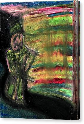 The Gateway Canvas Print by Levi Glassrock