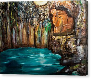 The Gateway Canvas Print by Solveig Katrin