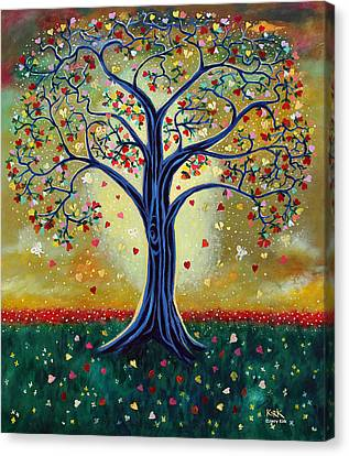 The Giving Tree Canvas Print by Jerry Kirk