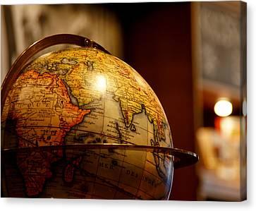 The Globe Canvas Print by Edward Myers